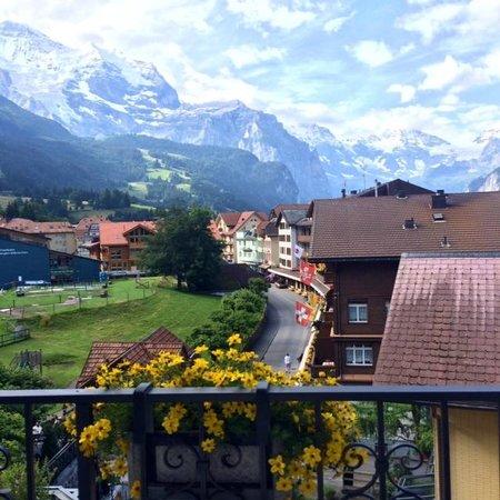 Hotel Schönegg: Amazing View