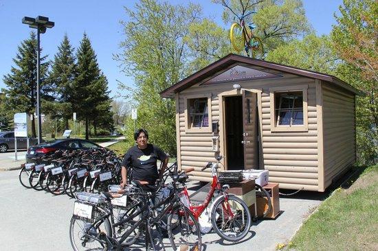 Rouyn-Noranda, Canada: Service de prêts gratuits de vélos