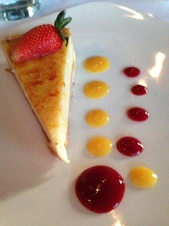 sunburnt lemon tart