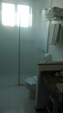 Aguas do Iguacu Hotel Centro: Banheiro