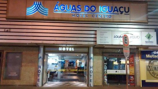 Aguas do Iguacu Hotel Centro: Fachada do Hotel