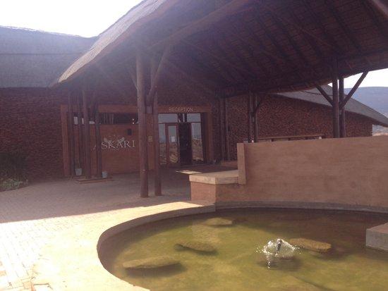 Askari Game Lodge & Spa: Main Reception