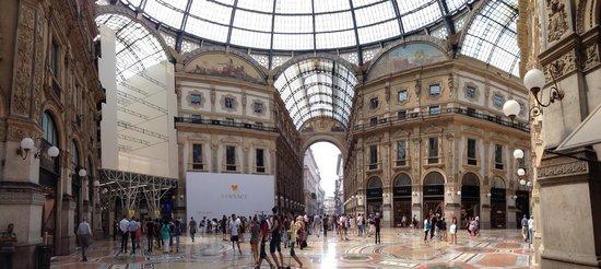 Galleria Vittorio Emanuele II: Août 2014