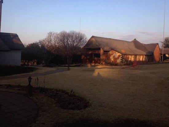 Askari Game Lodge & Spa: Beautiful sunset view of the museum