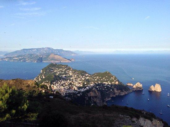 Mount Solaro : Tramonto...