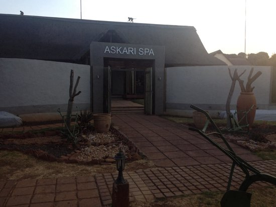 Askari Game Lodge & Spa: R&R time at the spa