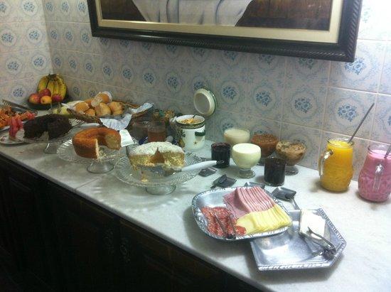 Pousada Estalagem de Brotas: Café da manhã