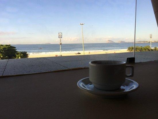 Porto Bay Rio Internacional Hotel: Vista do pequeno almoço