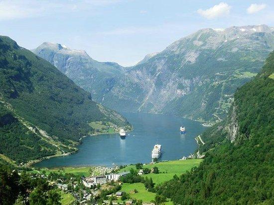 Geiranger Fjord : Geirangerfjord