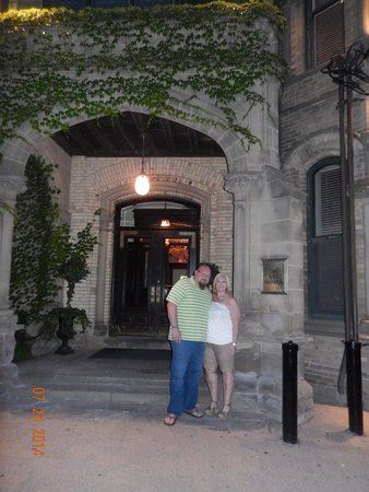 The Keg Steakhouse + Bar Mansion: outside the front doors