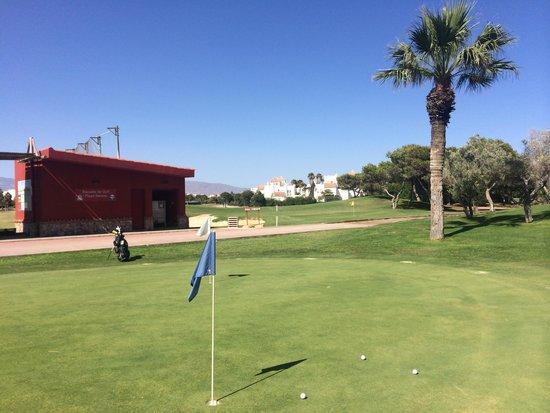 Club De Golf Playa Serena: Chipping green