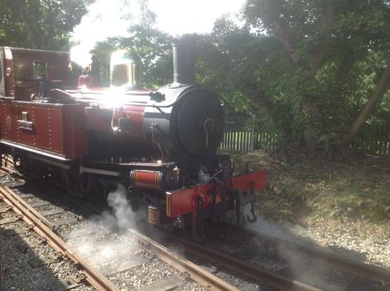 Isle of Man Bus and Rail: our steam train awaits!!!
