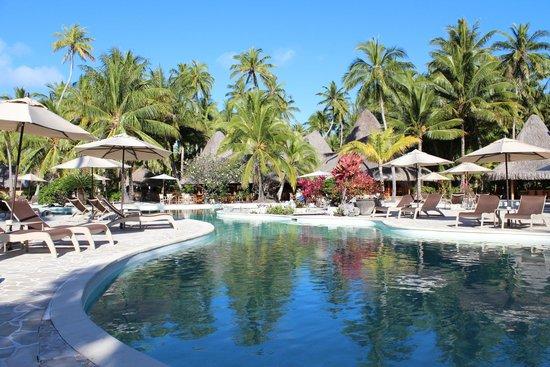 Bora Bora Pearl Beach Resort & Spa : la piscina