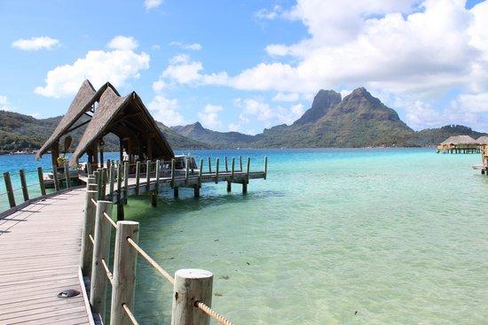 Bora Bora Pearl Beach Resort & Spa : mare