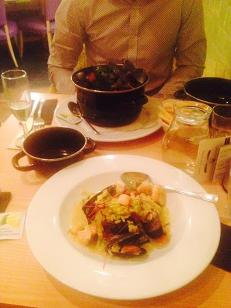 Moules A Go Go -: Food was amazing, great value for money