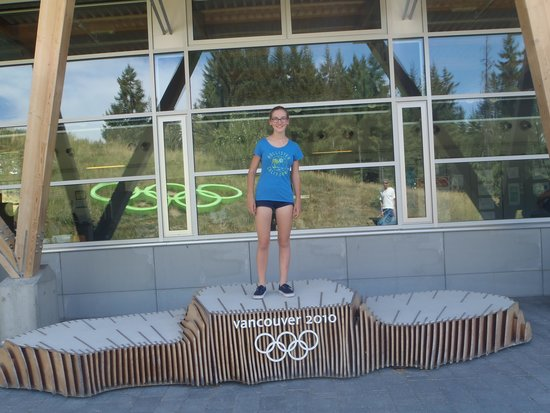 Whistler Sliding Centre: Visitor centre-Olympic stage