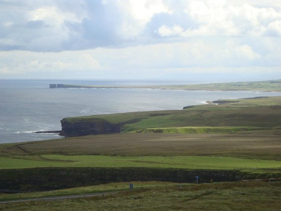 Ceide Fields : Coast and headland looking east