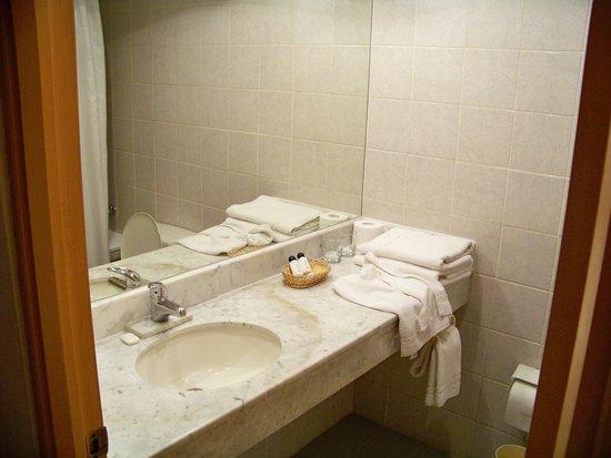 Leonardo Da Vinci: Interior do quarto, banheiro.