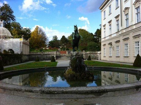 Palais et jardins de Mirabell : Fountain from Sound of Music