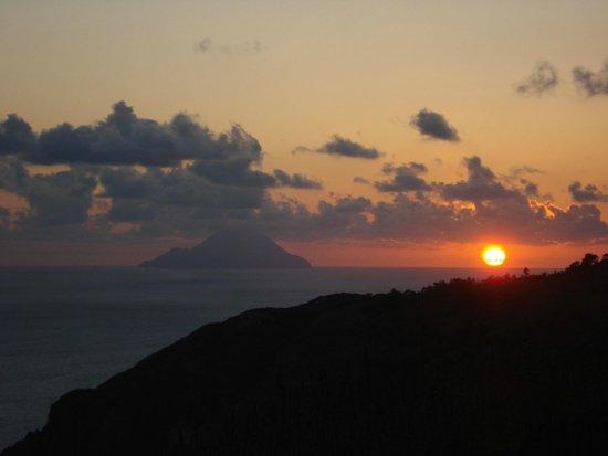 Agriturismo Monte delle Cristule : Coucher de soleil