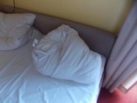 Das Golden Leaf Hotel Perlach Allee Hof: Il mio cuscino dopo una notte movimentata