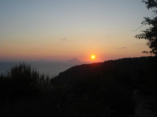 Agriturismo Monte delle Cristule : Coucher de soleil 2