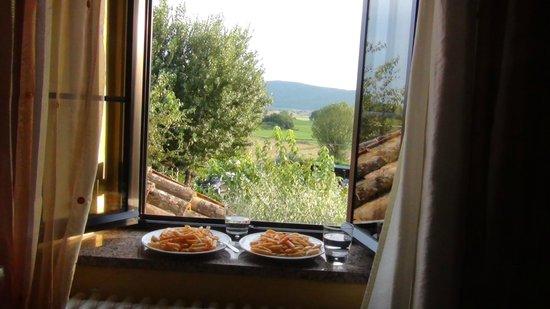 Casa Di Campagna in Toscana: Uitzicht vanuit de kamer