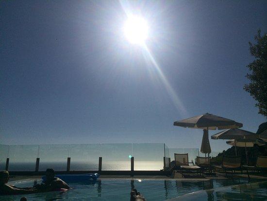 SENSIMAR Grand Mediterraneo Resort & Spa by Atlantica: View from Pool