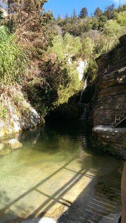 Adonis Baths Water Falls: top pool