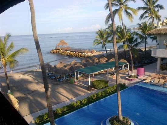 Crown Paradise Club Puerto Vallarta : View from balcony