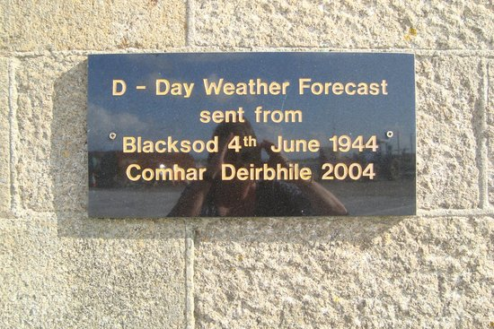 Blacksod Bay: The D-Day plaque