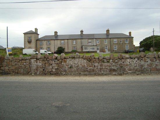 Blacksod Bay: The former coastguard station
