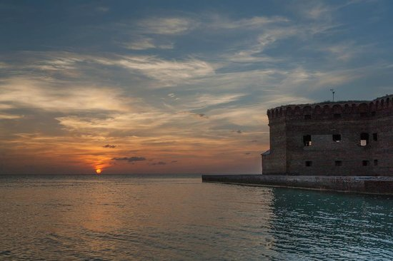 Dry Tortugas National Park: Sunset on Dry Tortugas