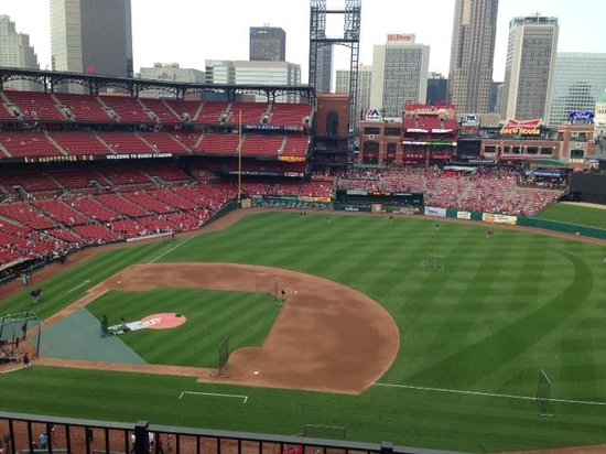 Busch Stadium: View from our seats