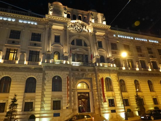 Boscolo Prague, Autograph Collection: Hotel at Night