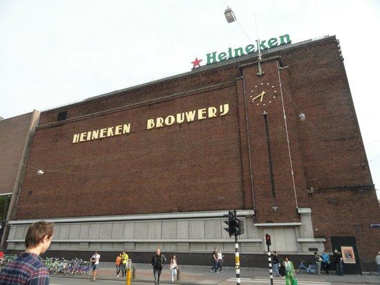 Heineken Experience: Fachada de la fábrica
