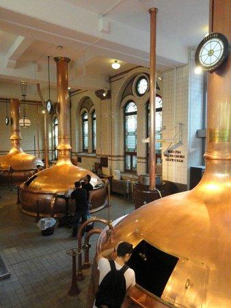 Heineken Experience: Interior de la fábrica