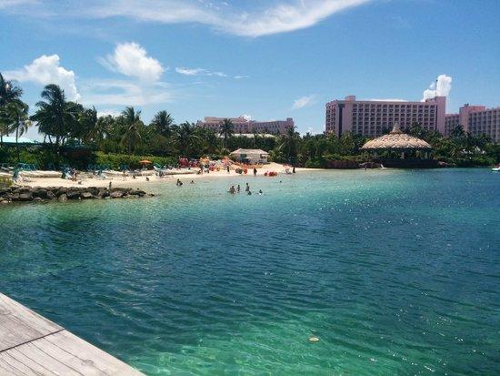 Aquaventure Water Park at Atlantis Paradise Island: Kid Beach Area