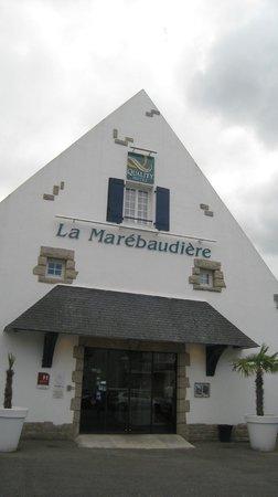 Quality Hotel La Marebaudiere Vannes : exterior hotel
