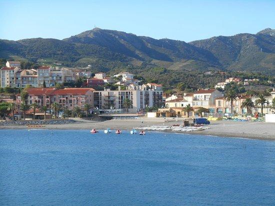 Cote Thalasso Banyuls sur Mer: la plage
