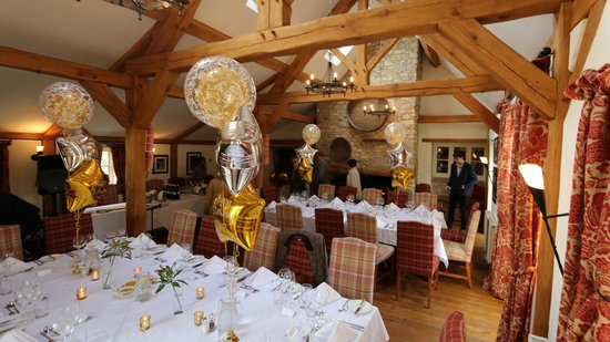 Old Swan & Minster Mill: Our party room!