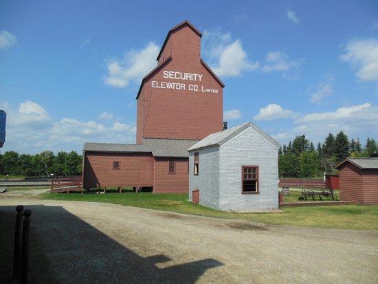 Heritage Park Historical Village: RELOCATED GRAIN ELEVATOR