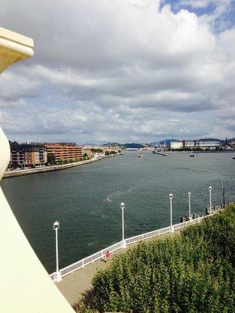 Gran Hotel Puente Colgante : Vistas desde la terraza de la habitación