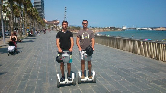 Our family on tour - Picture of Barcelona Segway Day ...