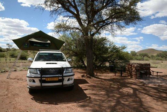 Duwisib Guestfarm: Campsite