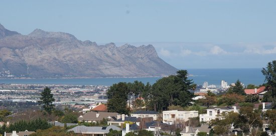 African Dreams: View from Senufo Penthouse and Breakfast Terrace