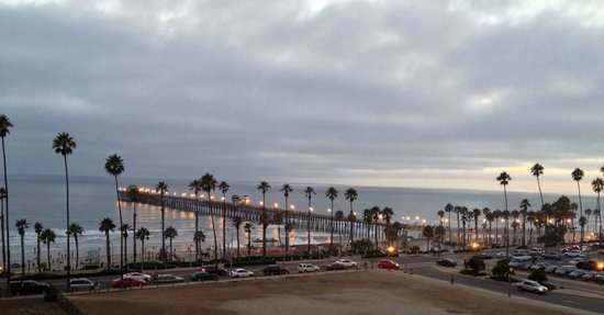 SpringHill Suites San Diego Oceanside/Downtown: Oceanside Pier-  from 5th floor balcony