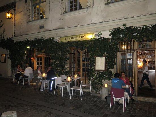 Restaurant Le Coupe Chou  Paris
