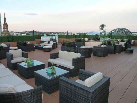 The Vermont Hotel: Roof Terrace