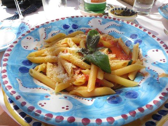 Le Sirenuse Hotel : pasta, was delicious!
